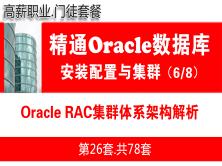 Oracle RAC數據庫集群入門培訓教程_Oracle RAC體系架構解析_OracleRAC教程