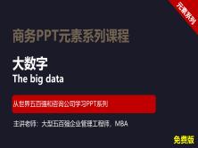 【司马懿】商务PPT设计进阶元素篇13【灵活使用大数字】免费版