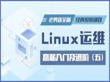 Linux运维高薪入门及进阶全新经典视频课程-老男孩Linux第五部