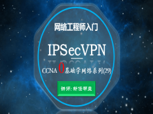 CCNA 0基础学网络系列课程29:IPsec virtual  private network