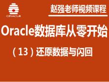 赵强老师:Oracle数据库从零开始(13):还原数据与闪回视频课程