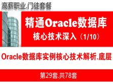 Oracle数据库实例核心技术解析_Oracle视频教程_基础深入与核心技术01