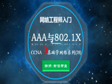 2020網絡工程師入門CCNA 0基礎學網絡系列課程28:AAA與802.1X【新任幫主】