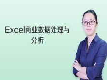 Excel商业数据处理与分析视频课程