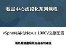 VMware vSphere专题之-NEXUS 1000v 交换配置视频课程