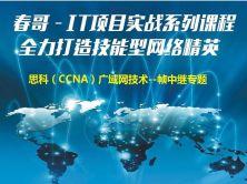 IT项目实战系列课程—思科(CCNA)实战课程—广域网技术(Frame-relay)视频课程