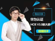 华为认证HCNP-HCIE v3.0组播
