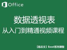 [陈志文]EXCEL数据透视表视频教程精编版-零基础