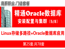 生產環境Linux系統多路徑存儲配置+RHEL6/7.x+Oracle視頻教程_安裝配置與集群實施5