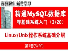 Linux/Unix操作系统基础知识_MySQL数据库学习入门必备系列教程03