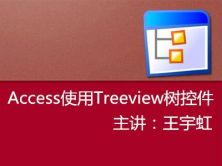 Access使用Treeview树控件精讲视频课程
