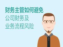 财务主管如何避免公司财务及业务流程风险视频教程