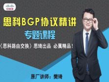 [原厂讲师 樊琦]思科BGP协议精讲视频[思琦出品,必属精品]