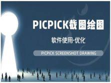 实战微课 -轻松带你学会picpick截图绘图软件使用-优化