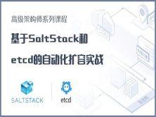 高级架构师系列视频课程3-基于SaltStack和etcd的自动化扩容实战【培训班课程】