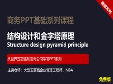 【司马懿】商务PPT设计基础篇02【结构设计】免费版