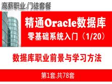Oracle數據庫職業前景與學習方法_Oracle數據庫學習入門必備系列教程1