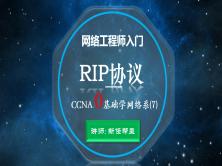 2020网络工程师入门CCNA 0基础学网络系列课程7:RIP路由协议