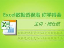 Excel数据透视表实战视频课程【你学得会】