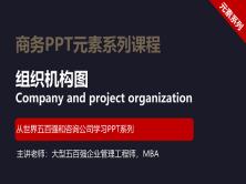 【司马懿】商务PPT设计进阶元素篇04【ppt组织结构图设计】