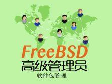 FreeBSD高级管理员3-软件包管理实战视频课程