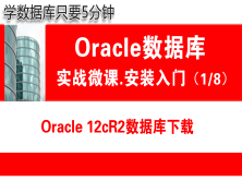 Oracle数据库下载(12.2)_Oracle安装入门_实战微课_5分钟带你学Oracle