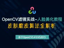 OpenCV滤镜实战视频课程-人脸美化教程