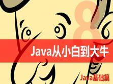 Java从小白到大牛第1篇 Java基础视频课程