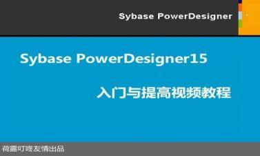 PowerDesigner 15入門與提高精講視頻課程【荷露叮咚】