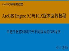 ArcGIS Engine(9.3和10.X)+Visual Studio融会贯通视频课程