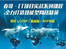 IT项目实战系列课程—思科(CCNP)实战课程—BGP协议视频课程