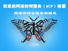 网络时间服务(NTP)部署(Windows-Linux双系统-七日成蝶)