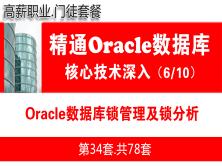 Oracle數據庫鎖管理及鎖分析_Oracle視頻教程_基礎深入與核心技術06
