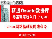 Linux网络基础及网络命令_Oracle数据库入门必备培训视频课程14