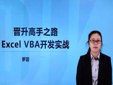 晋升高手之路VBA for Excel视频教程