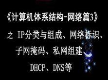 《计算机体系结构—网络篇3》之IP分类与组成、网络标识、子网掩码、私网组建
