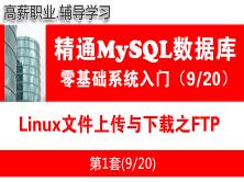 Linux文件上传与下载之FTP_MySQL数据库学习入门必备系列教程09