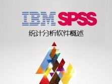 IBM SPSS 统计分析软件概述视频课程