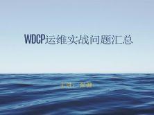 WDCP运维实战问题汇总视频教程