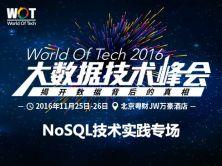 WOT2016大数据技术峰会-NoSQL技术实践专场