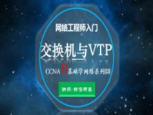 2020网络工程师入门CCNA 0基础学网络系列课程13:交换机与VTP