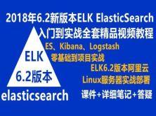 全新ElasticSearch视频教程ELK入门到实战课程LogstashKibana