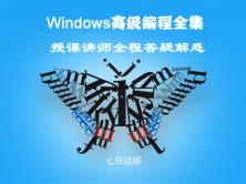 Windows高级编程全集视频课程(七日成蝶)