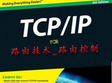 安德TCPIP路由技术**卷经典视频课程-路由控制部分