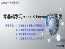 零基础学习ArcGIS Engine+C#二次开发