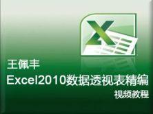 【王佩豐】Excel 2010數據透視表視頻教程 完整版