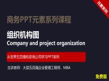 【司马懿】商务PPT设计进阶元素篇04【ppt组织结构图设计】免费版
