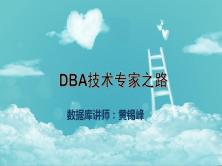 DBA技術專家之路【黃錫峰】