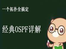 一个拓扑全搞定 - 经典OSPF详解