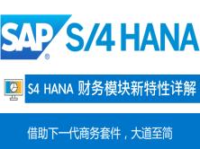 S4 HANA FICO 财务模块新特性介绍视频课程